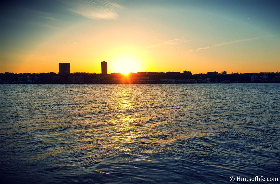 Sunset- Riverside