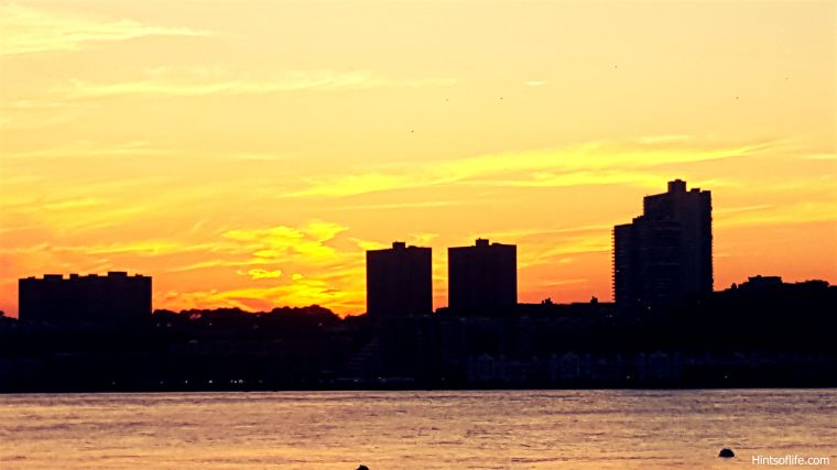 Fall sunset @Hudsonriver_1