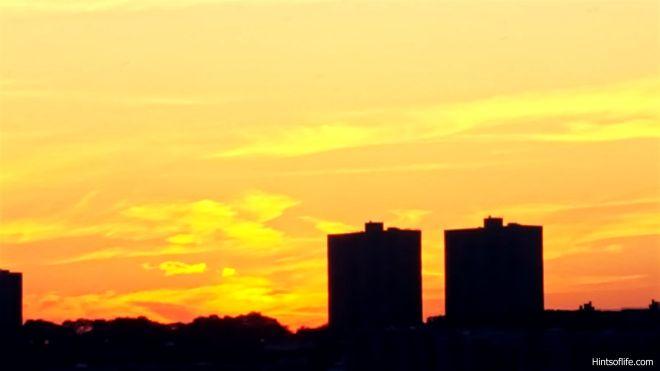 Fall sunset @Hudsonriver_2