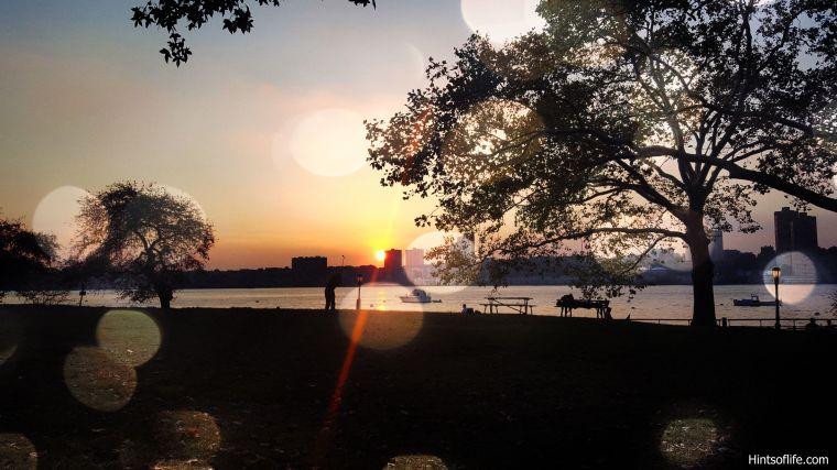 Sunset @riversidepark