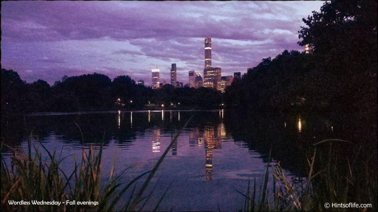 Central Park_The Lake_Fall evenings